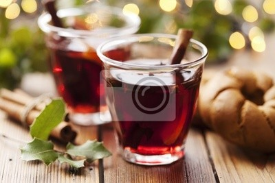 mulled wine christmas drink