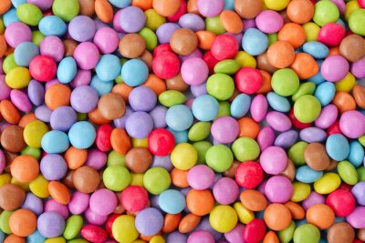 Poster Multicolor candies