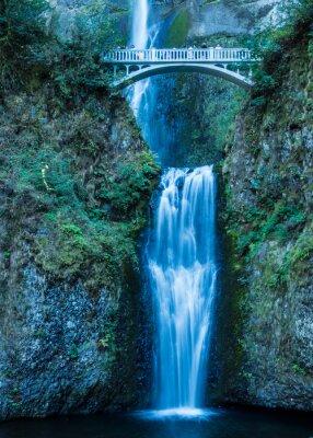 Poster Multnomah Falls in the Columbia Gorge