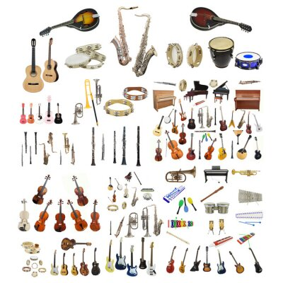 Poster music instruments