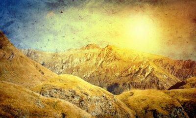 Poster Natural landscape
