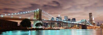 Poster New York City panorama