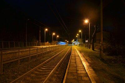 Poster Night station