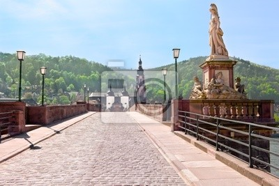 Poster Old Bridge Heidelberg