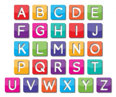 Poster paper capital letters