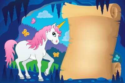 Poster Parchment in fairy tale cave image 7