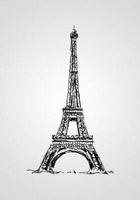 Poster Paris art design illustration