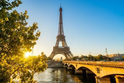 Poster Paris Eiffelturm Eiffeltower Tour Eiffel