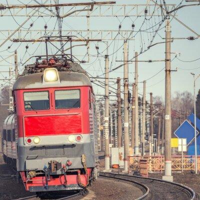 Poster Passenger train.