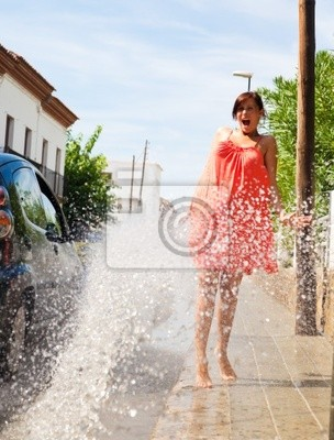 pedestrian wet