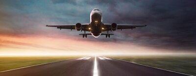 Poster Plane in Flight
