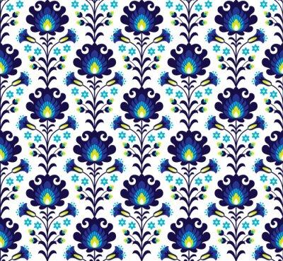 Poster Polish folk pattern