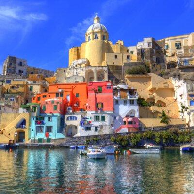 Poster Procida Island in the Mediterranean Sea, Naples