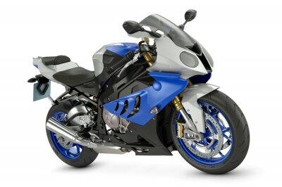 Poster Racing motorcycle