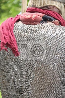 Poster Ritter mit Kettenhemd