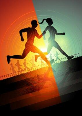 Poster Running team