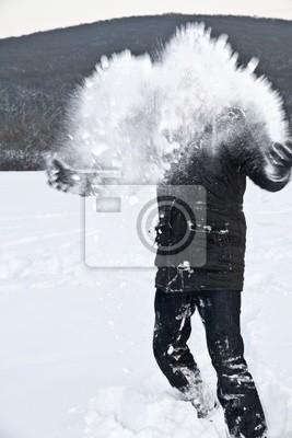 schneewurf