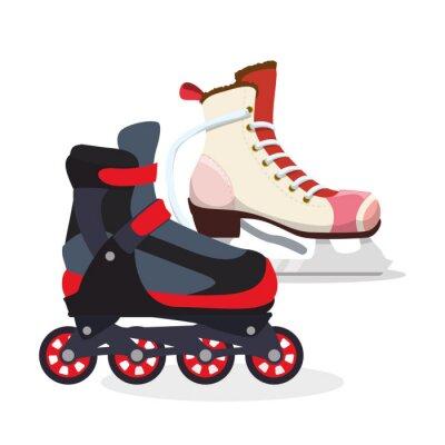 Poster Skating icon design