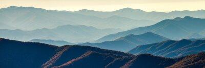 Poster Smoky mountain ridges