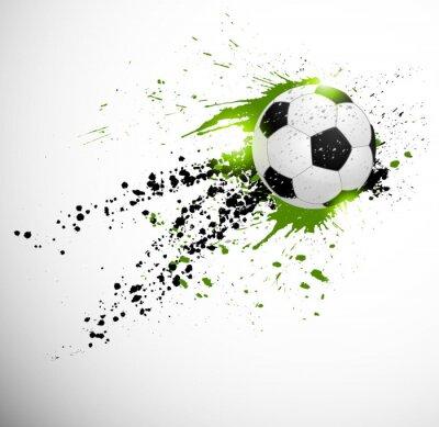 Poster Soccer design