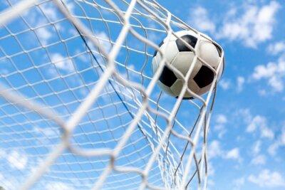 Poster Soccer, Goal, Soccer Ball.