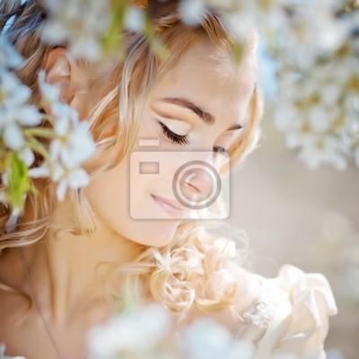Spring bride portrait