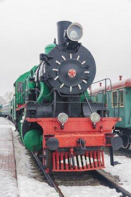 Poster steam train