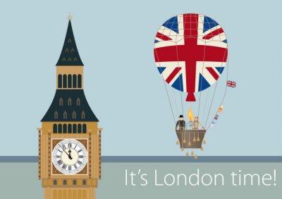 Poster Stylish London drawings