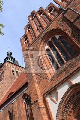 Poster Südkapelle der Marienkirche in Wittstock/Dosse