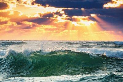 Poster Sunrise Wave