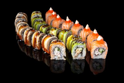 Poster Sushi roll