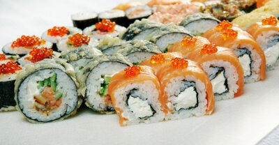 Poster Sushi Roll .