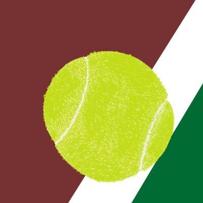 Poster Tennis ball