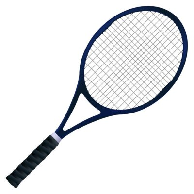 Poster Tennis racket