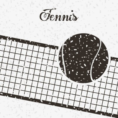 Poster tennis sport design