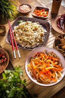 Poster Thai noodles
