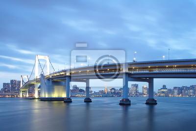 Poster The Rainbow Bridge ,Tokyo Japan