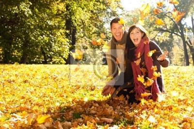 throw leaves