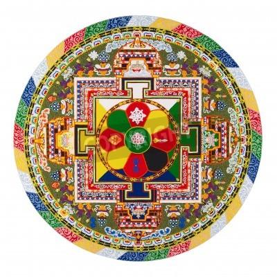 Poster Tibetan mandala