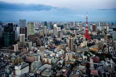 Poster Tokyo city view