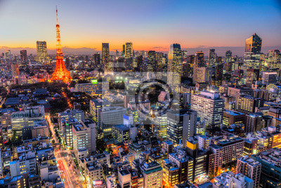 Poster Tokyo, Japan.