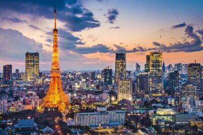 Poster Tokyo, Japan at Tokyo Tower
