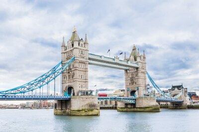 Poster Tower Bridge in London, UK