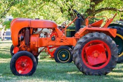 Poster Tracteur ancien