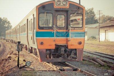 Poster Train Vintage
