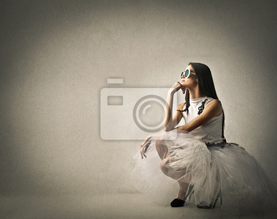 Transparencies in white