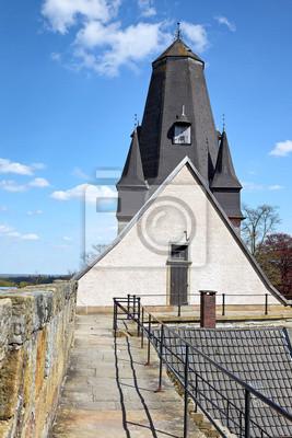 Poster Turm der Katharinenkirche Burg Bad Bentheim