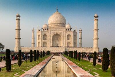 Poster UNESCO World Heritage Site of Taj Mahal, Agra, Rajasthan, India