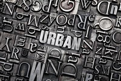 Poster urban