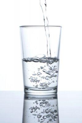 Poster Vaso con agua